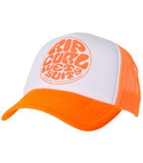 Rip Curl Gorra Wettie Trucka Naranja Rip Curl Gorros - Viseras Running Textil Running Color: naranja