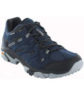 Hi-Tec Ravus Vent Lite Low WP Hi-Tec Zapatillas Trekking Hombre Calzado Montaña Tallas: 41, 42, 43, 45, 47; Color: azul