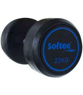 Softee Mancuerna Modern 6 Kg Softee Pesas - Tobilleras Lastradas Fitness Color: negro