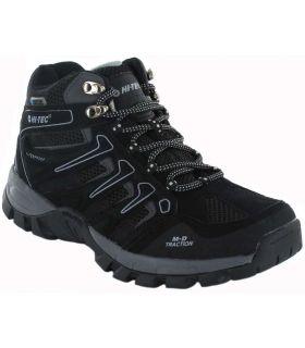 Hi-Tec Torca Mid WP Hi-Tec Botas de Montaña Hombre Calzado Montaña Tallas: 40, 41, 42, 43, 44, 45, 46; Color: negro