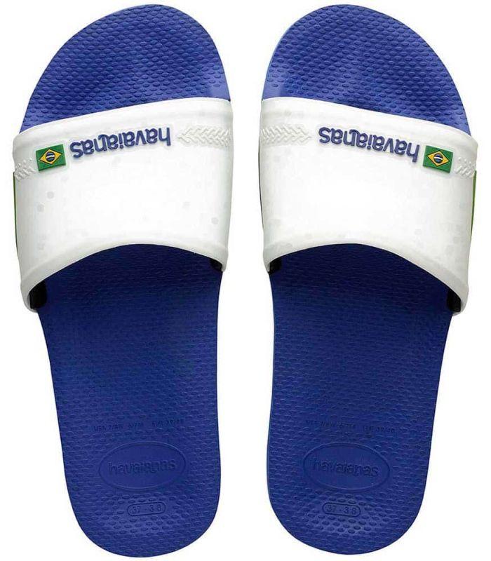 Havaianas Slide Brazil Blue - Shop Sandals/Man Chancets Man