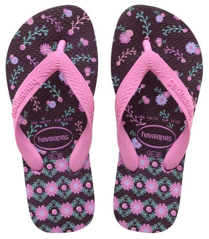 Havaianas Kids Flores 2 - Store Sandals/Junior Chancets